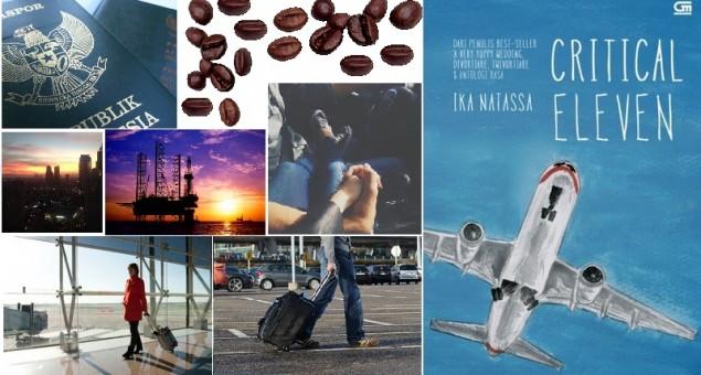 Critical Eleven - Pesawat, Bandara, dan Biduk Rumah Tangga