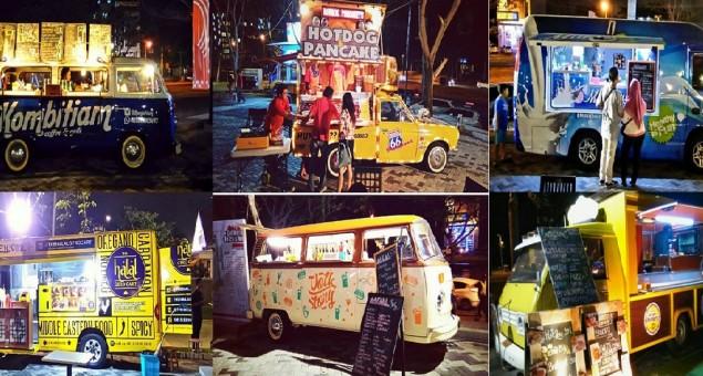 Berkuliner Ala Foodtruck Fiesta di Graha Fairground Surabaya Barat