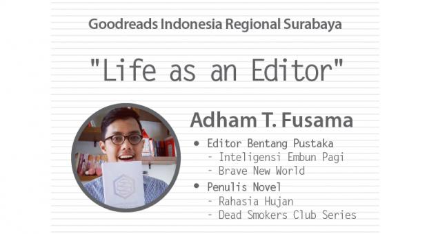 Literasi Februari: GRI Regional Surabaya dan Adham Fusama (Editor)