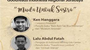 Literasi Agustus: GRI Regional Surabaya - Muda untuk Sastra