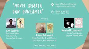 Goodreads Indonesia Regional Surabaya: Novel Remaja Dan Dunianya