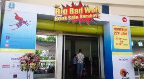 Literasi Oktober: Big Bad Wolf Menghantui (Pecinta Buku) Surabaya