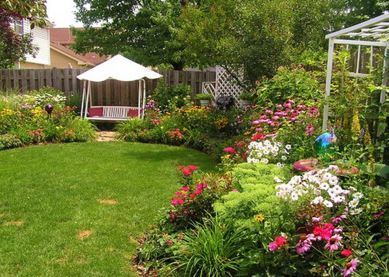 Angel 39 s smile for Small flower beds front homes