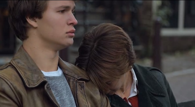 Augustus Waters and Hazel Grace