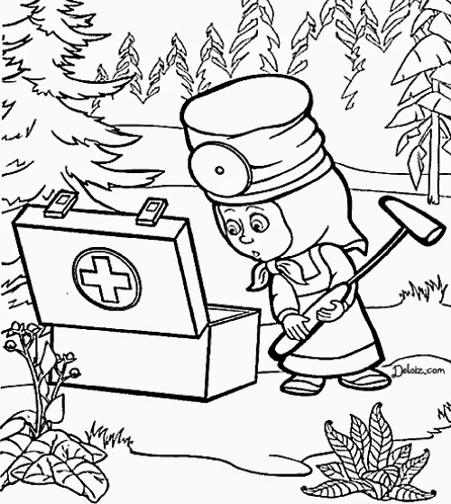 Doodle Land A Coloring Book For Grown Up Children