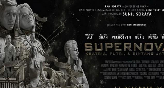 SUPERNOVA: Ksatria, Putri, Dan Bintang Jatuh Film - Filsafat Eksistensi