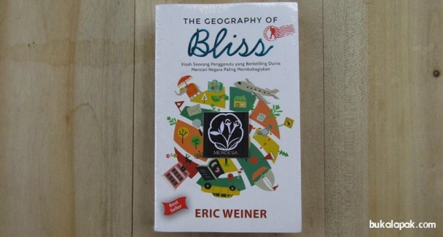 The Geography Of Bliss - Penggerutu yang Mencari Kebahagiaan