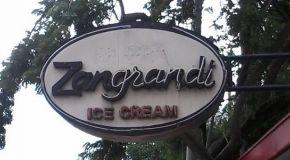Kedai Es Krim Zangrandi - Sejak 1930