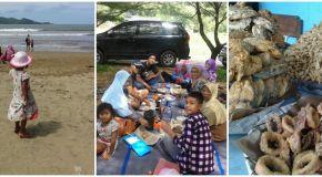 Piknik Asyik Bersama Keluarga Di Pantai Teleng Ria