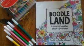 Doodle Land, A Coloring Book for Grown-Up Children