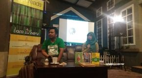 Literasi Oktober: Goodreads Surabaya, Mahfud Ikhwan, dan Kambing